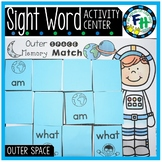 Outer Space Memory Match {Sight Word Center}