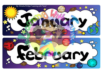 Outer Space Monthly Header