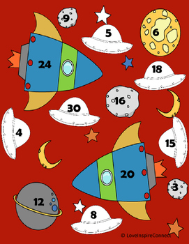 Outer Space Multiplication Bump Game