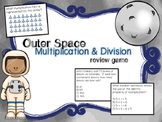 Outer Space Multiplication & Division Review Game