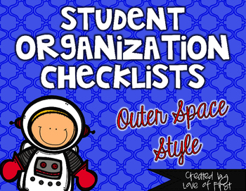 Space Organization Checklists