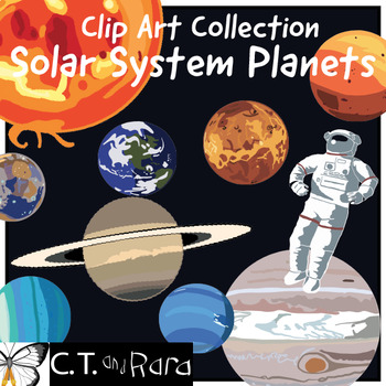 Outer Space Original Art Clip Art