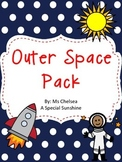 Outer Space Pack for Early Elementary or Special Education
