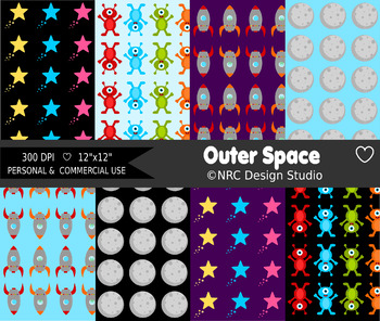 Outer Space Paper Pack