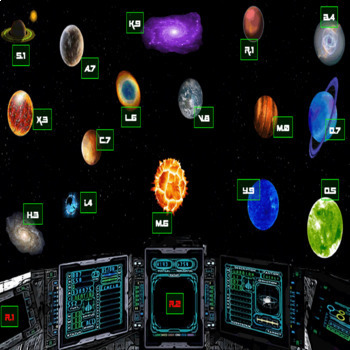 Outer Space PowerPoint Game