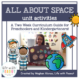 Outer Space Preschool Theme, Outer Space Curriculum Guide