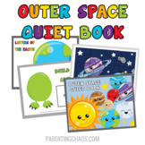 Outer Space Quiet Book