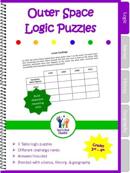Logic Puzzles Outer Space Science