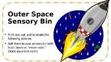 Outer Space Sensory Bin