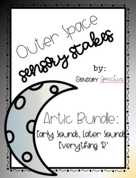 Outer Space Sensory Stakes: Artic Bundle
