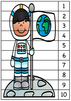 Outer Space Sequence Puzzles