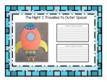 Outer Space / Solar System Package {Spaceship Craftivity}