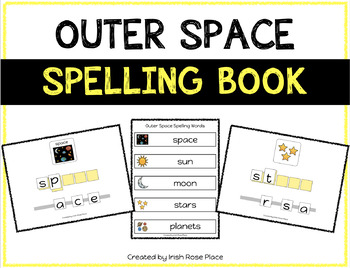 Outer Space Spelling Books (Adapted Book)