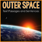 Outer Space Text Passages and Sentences