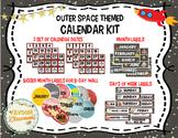 Outer Space Theme Calendar Kit