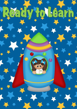 Outer Space Themed Classroom Decor