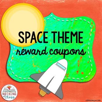 Reward Coupons: Space Theme