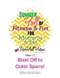 Outer Space Theme Weekly Lesson Plan - Homeschool, Prescho