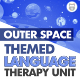 Outer Space Themed Language Therapy Unit for Speech Therapy