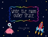 Outer Space Themed Read and Write the Room