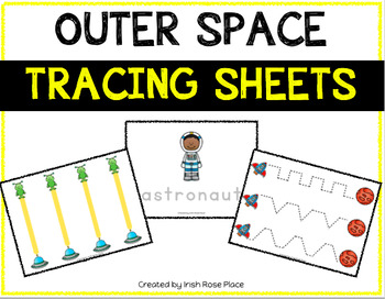 Outer Space Tracing Sheets