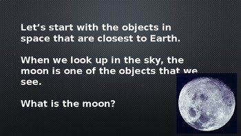 Outer Space: What's out there? Power point presentation