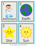 Outer Space Write the Room Activity