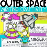 Solar System Writing Craftivity - Space Writing Prompts and Crafts