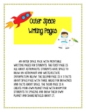 Outer Space Writing Pages