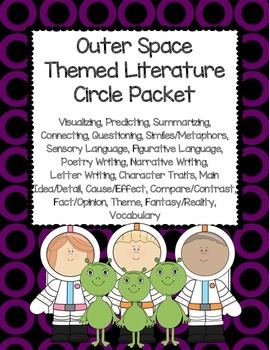 Outer Spaced Themed Literature Circle Packet: Use With Any Book