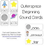 Outerspace Beginning Sound Cards