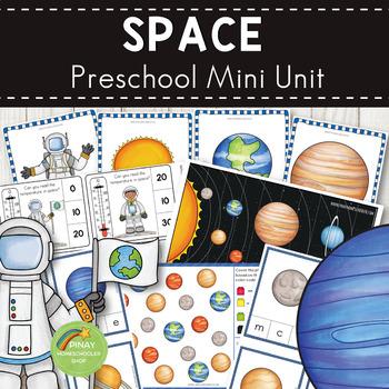 Space and Solar System Preschool Mini Unit Activities