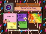 Outlandish Owls November Behavior Clip Chart