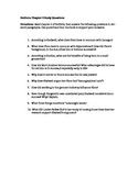 Outliers Chapter 5 Study Questions