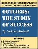 """Outliers"" by Malcolm Gladwell: Writing Project Assessment"