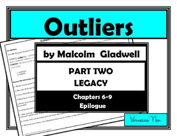 Outliers The Story of Success - PART TWO LEGACY (Chapters 6-9, Epilogue)