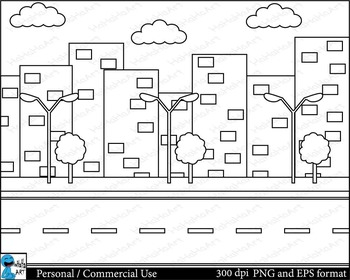 Outline Cars Digital ClipArt Personal, Commercial Use 21 images cod111