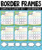 Border Frames Clipart Mega Bundle {Zip-A-Dee-Doo-Dah Designs}
