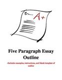 Outlines- Five Paragraph Essay with Parenthetical Citations