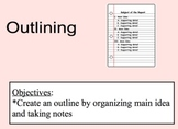 Outlining Lesson
