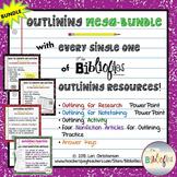 Outlining MEGABUNDLE:  PowerPoints, Activities, Informatio