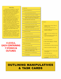 Outlining Manipulatives & Task Cards