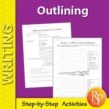 Outlining: Step-by-Step Activities