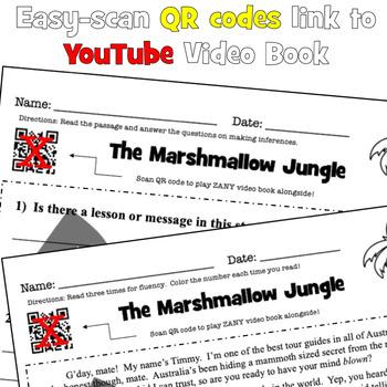 Fun Reading Activity: Fun Reading Comprehension #1