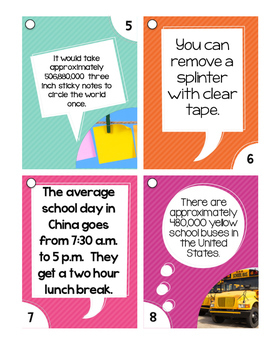 Outrageously True ~ Back to School Edition