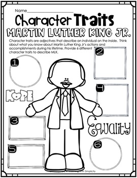 Outrageously True ~ Martin Luther King Jr.  Edition Early Finishers