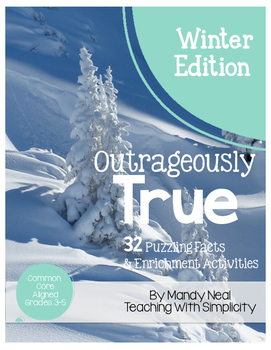 Outrageously True ~ Winter Edition