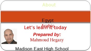 Outreach about Arabic