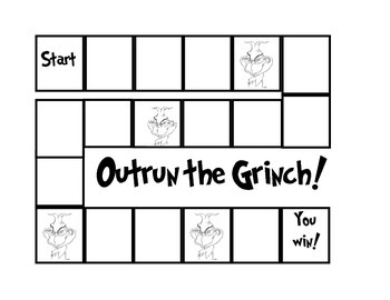 Outrun the Grinch Math Game