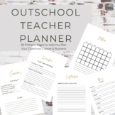 Outschool Teacher Planner Pages